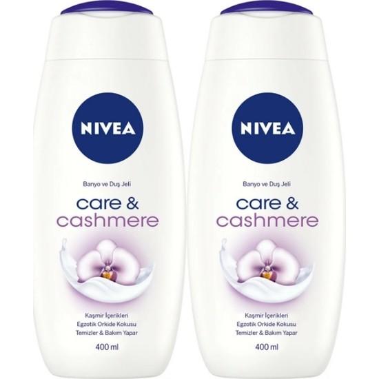 Nivea Care & Cashmere Moments Kadın Duş Jeli 400 ml x 2