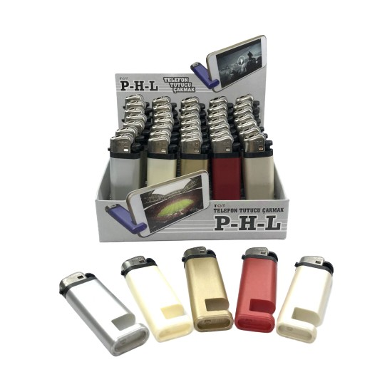 Ardahan Ticaret Telefon Tutucu Çakmak 40 Adet