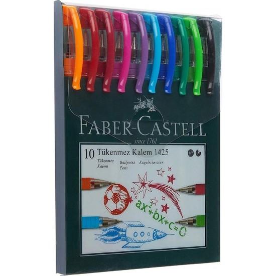 1425 Renkli Tükenmez Kalem 10'lu