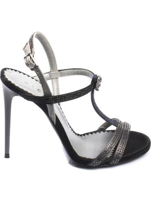 John Richmond Kadın Topuklu Sandalet Siyah 1936