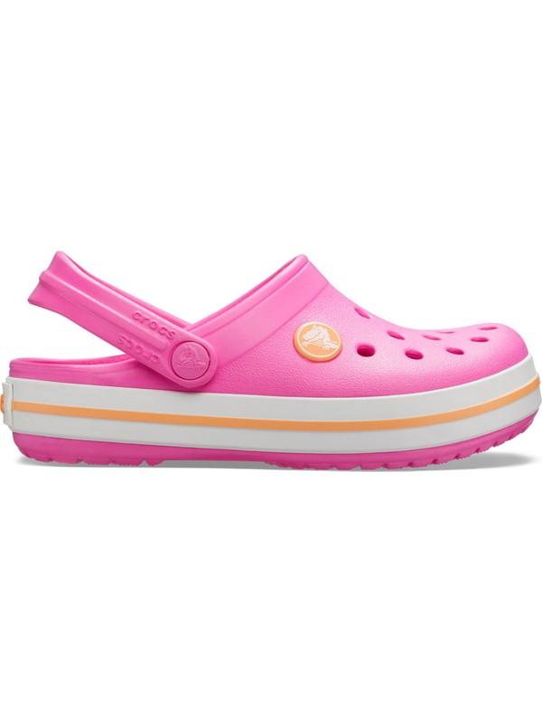 Crocs 204537-6QZ Pembe Crocband Çocuk Terlik