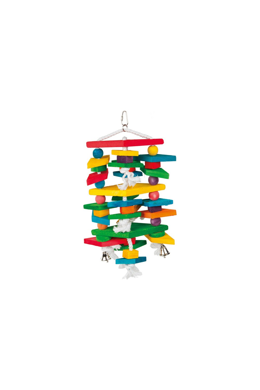 Loofah Birds' Toy