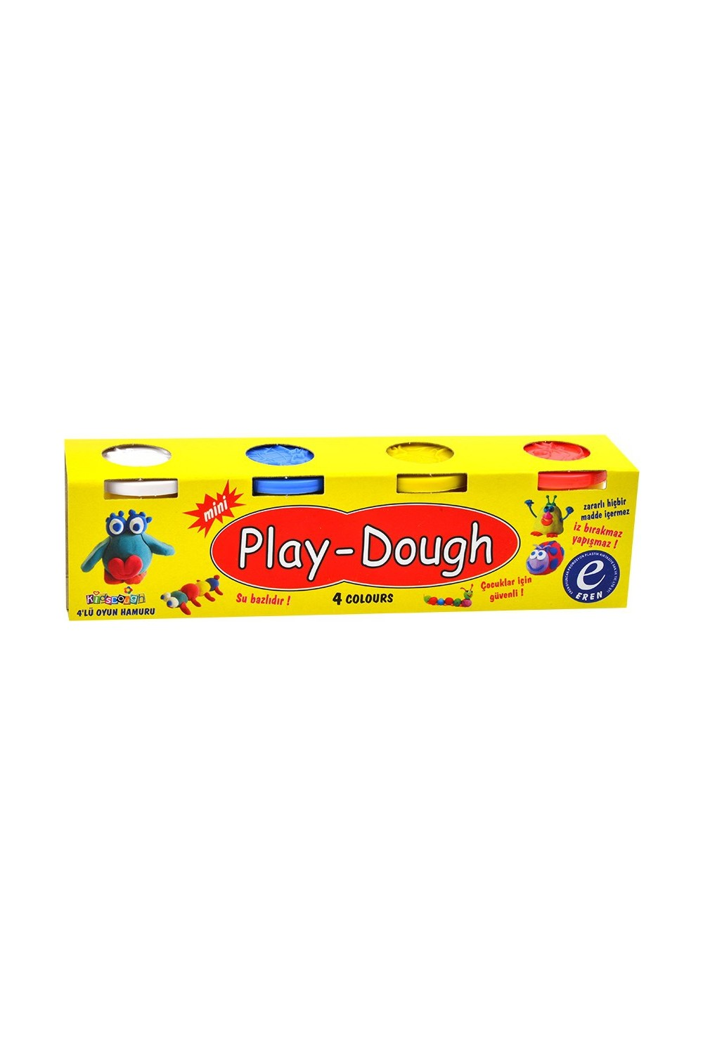 Wildlebend Game 4 Color wheat dough (Small Size) - Play Dough