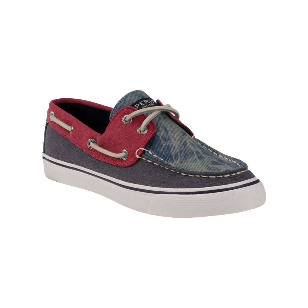 Sperry Navy Red Sts99129 Sperry Bahama Tri-Tone Ayakkabı
