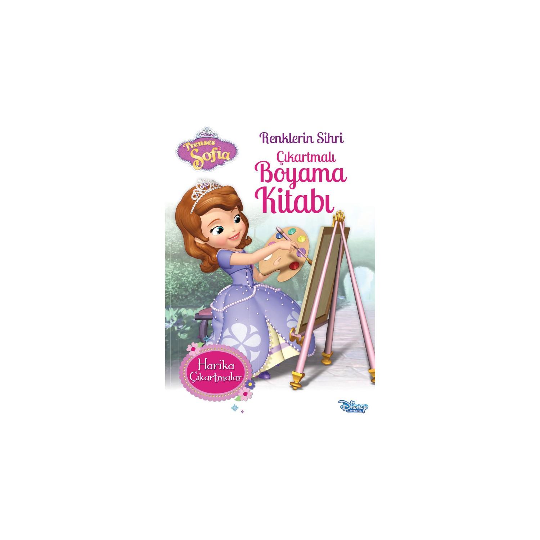 Prenses Sofia Renklerin Sihri Cikartmali Boyama Kitabi Fiyati