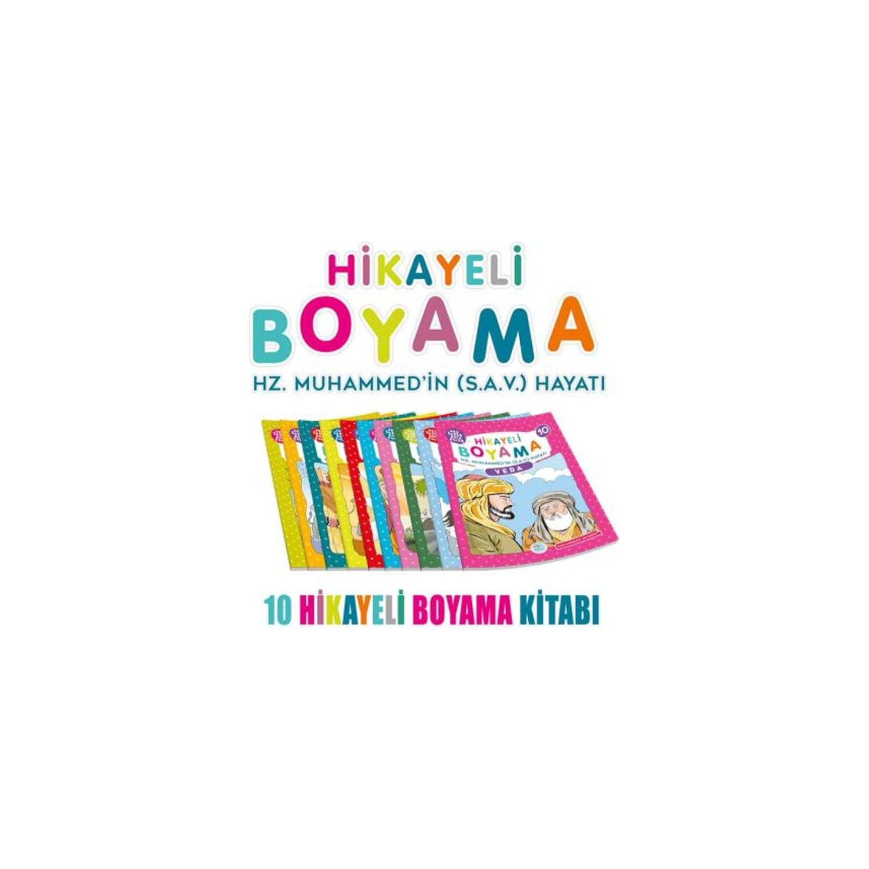 Hikayeli Boyama Hz Muhammedin Sav Hayatı 10 Kitap Fiyatı