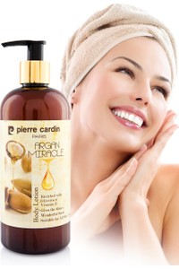 Pierre Cardin Argan Oil Extract Nutrient & Moisturizing Body Lotion