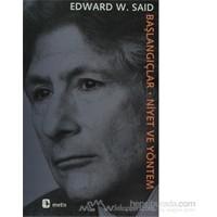 Başlangıçlar-Edward W. Said