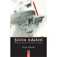 Şiirin Adaleti-Ali K. Metin