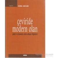 Çeviride Modern Olan-Esra Akcan