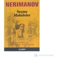 Neriman Nerimanov Seçme Makaleler-Hüseyin Adıgüzel