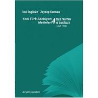 Yeni Türk Edebiyatı Metinleri 4 - Eser Tanıtma Ve Önsözler