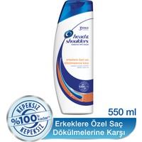 Head & Shoulders Şampuan Erkeklere Özel Saç Dökümelerine Karşı 550 ml