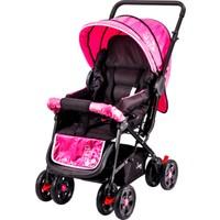 Johnson Snopy Çift Yönlü Bebek Arabası / Gri-Pembe