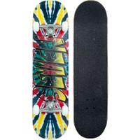 Seven Skates Complete Kaykay Rasta Tie Dye 7.80