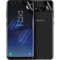 Microsonic Samsung Galaxy S8 Ön + Arka Kavisler Dahil Tam Ekran Kaplayıcı Film
