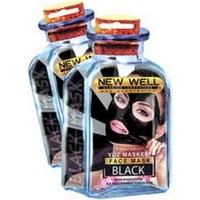 New Well Soyulabilir Siyah Maske 15 Ml.