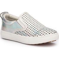 Pink Step Hole-1 Gümüş Kız Çocuk 337 Ayakkabı