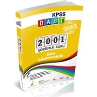 Tanıtım Bülteni KPSS ÖABT Sınıf Öğretmenliği Alan Taraması 2001 Soru 2001 Çözüm