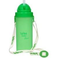 Wee Baby Pipetli Bardak 6 + Ay - Yeşil