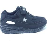 Rabum Siyah Air Cırtlı Çocuk Spor Ayakkabı