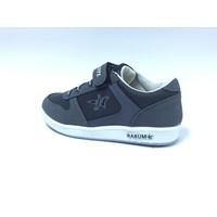Rabum Siyah Gri Cırtlı Çocuk Spor Ayakkabı