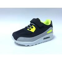 Rabum Siyah Sarı Air Cırtlı Çocuk Spor Ayakkabı