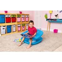 Bestway Şeffaf Renkli Şişme Çocuk Koltuğu Mavi 75006