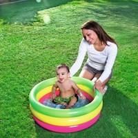 Bestway Şişme Havuz Bebekler Için 70 Cm Çapı Şişme Taban Bestway 51128