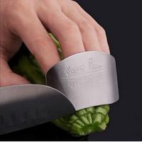 Watcut Finger Guard Parmak Koruyucu Paslanmaz Çelik Parmak Kesilmesini Önleyici pratik Mutfak Ürünü