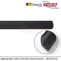 Oto Bagaj Çıtası Kalın 135X5.5cm Siyah Üniversal