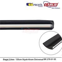 Bagaj Çıtası 135cm Siyah-Krom Üniversal