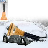Oto Buz Kazıyıcısı Saplı+Çekçek Turuncu