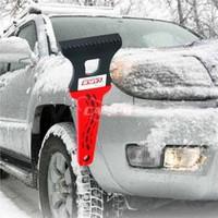 Oto Buz Kazıyıcısı Kırmızı