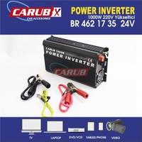 CARUB Invertör 24V 1000W 220V Yükseltici X1