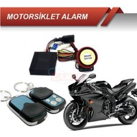Nettedarikcisi Motorsiklet Alarmı Kumandalı Kapaklı Kemerli