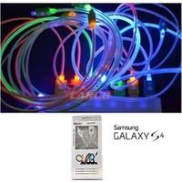 Araç Şarjı 12V Samsung Galaxy S4 7Rnk Işıklı