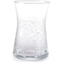 Cutechef Kitchen 6'Lı Sarmaşık Cam Çay Bardağı 165 Ml
