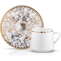 Koleksiyon Sufı Turk Kahvesı St 6Lı Ikat Platın