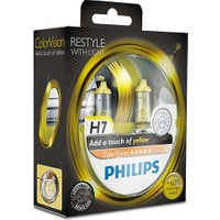 Philips H7 Tip Color Vision Yellow Far Ampül Seti 106204