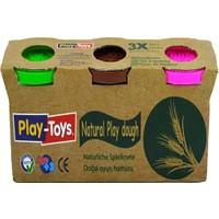 Play-Toys Natural Uclu Oyun Hamuru