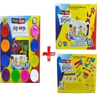Play-Toys 48 Parça Big Set Ve 24 Lü Oyun Hamuru Seti