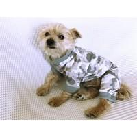 Camouflage - Summer Tulum By Kemique - Köpek Tulumu - Yazlık Köpek Kıyafeti - Köpek Elbisesi