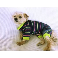 Party Tıme - Summer Tulum By Kemique - Köpek Tulumu - Yazlık Köpek Kıyafeti - Köpek Elbisesi