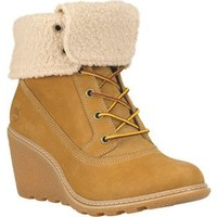 Timberland 8257A Ek Amstn Roll Top Wh Wheat Bot