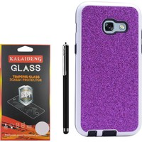 Gpack Samsung Galaxy J7 Prime Kılıf Simli Youyou Silikon Case +Kalem +Cam