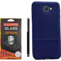Gpack Samsung Galaxy J7 Prime Kılıf Matrix Silikon Case +Kalem +Cam