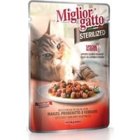 Miglior Gatto Sterilized Biftekli Ve Sebzeli Kedi Konservesi 85 Gr
