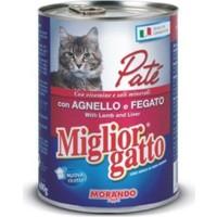 Miglior Gatto Kuzu Ve Ciğerli Pate Kedi Konservesi 400 Gr