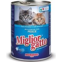 Miglior Gatto Balikli Kedi Konservesi 405 Gr